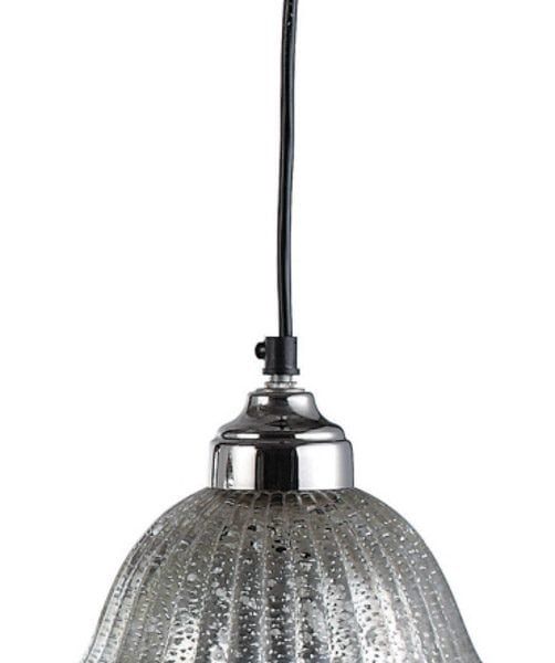 Mercury Glass Pendant Light Lamp Ceiling Mounted Fixture Chandelier Old Style
