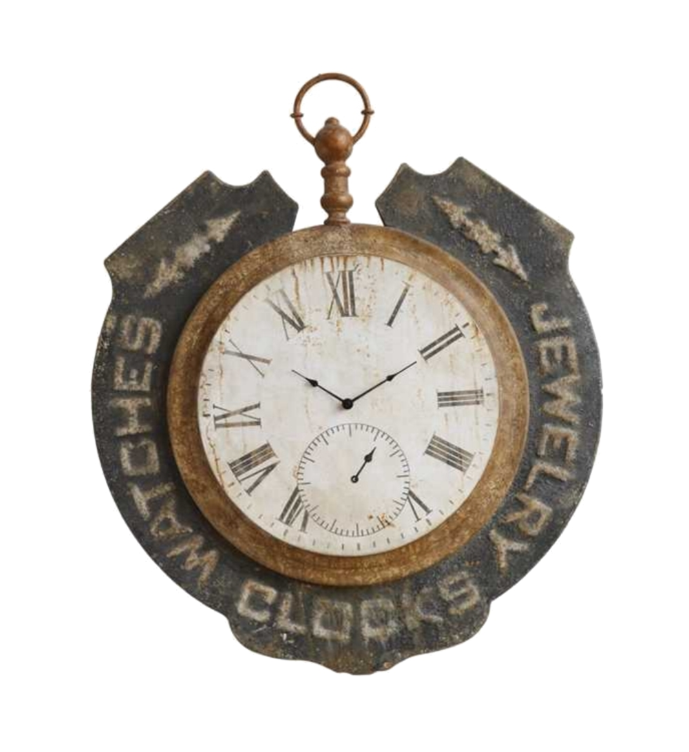 Antique Replica Jewelry Pocket Watch & Clock Historic Wall ...