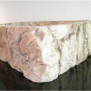 Freeform Onyx Gemstone Basin Vessel Sink Bathroom Kitchen Bar Fixture c7x3