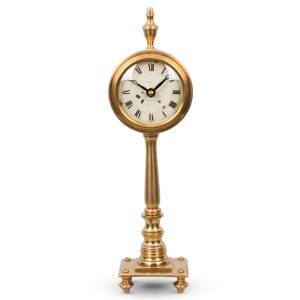 The Victoria Antique Replica Table Clock English Look Pedestal – The Kings Bay