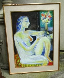Leopoldo PRESAS (1915-2009) Oil Painting Argentina Buenos Aires RARE with COA