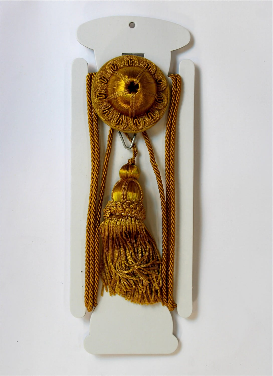 Gold Victorian Hanging Picture Wall Hook Antique Repro