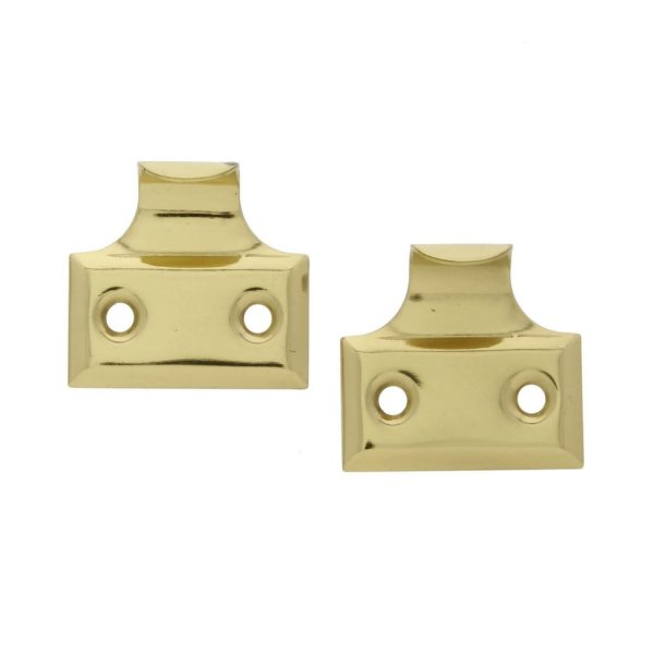 Solid Stamped Brass Light Weight Window Lift Hardware (pair)
