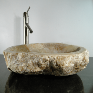 Onyx Marble Counter Top Vessel Basin Sink ONX82
