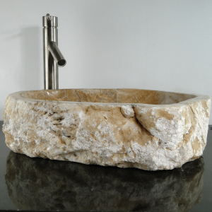 Onyx Marble Counter Top Vessel Basin Sink ONX81