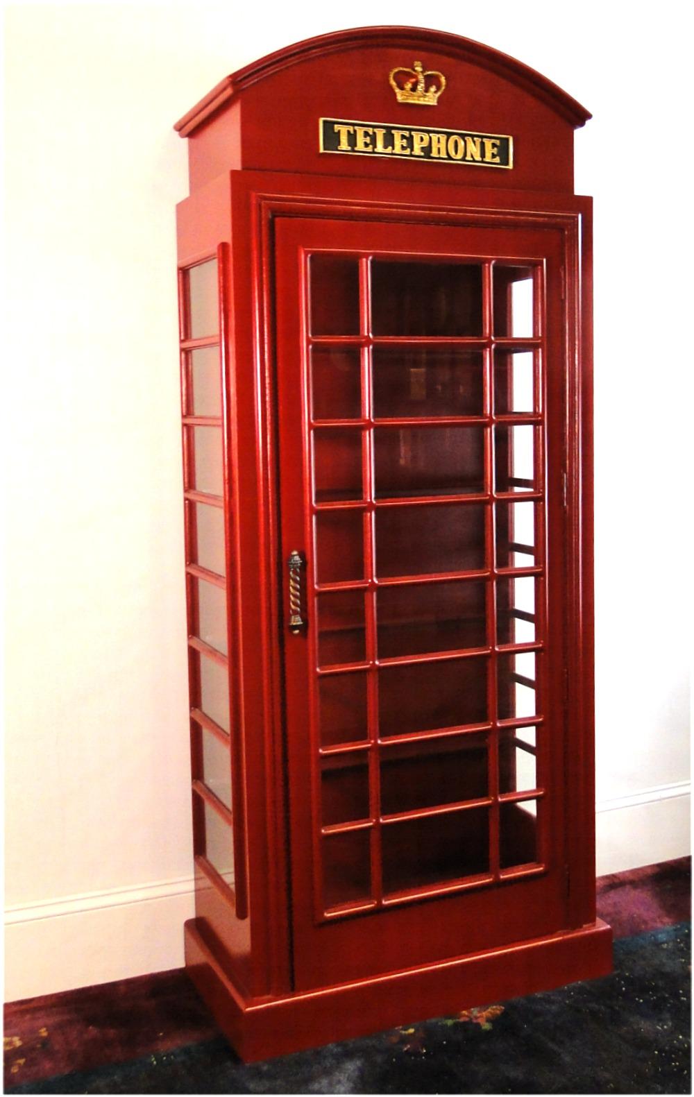 English British Telephone Phone Booth ...