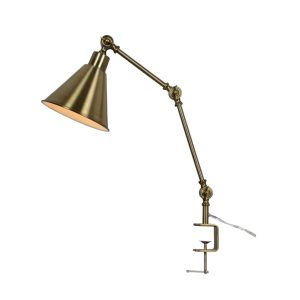 Aberny Clamp on Edge of Desk or Table Reading Light Lamp