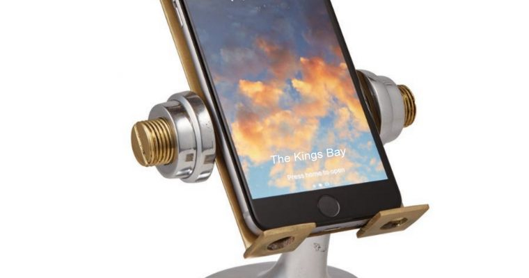 Cell Phone Holder or Stand Apollo Astronaut Desk Pendulux