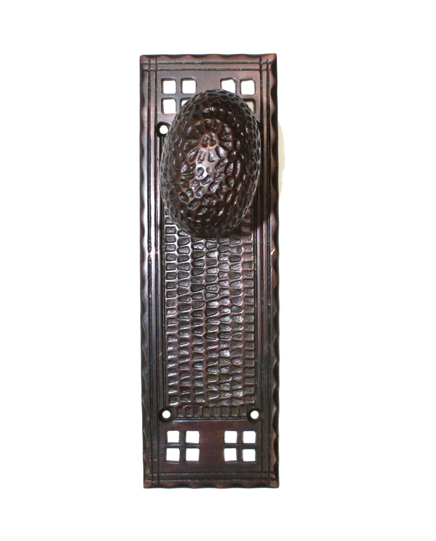 Arts And Crafts Bungalow Mission Bronze Door Knobs U2013 Plates ...