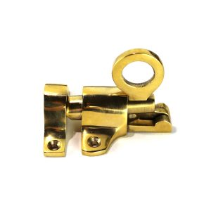 Transom Window Casement Springing Latch with Round Handle Pull