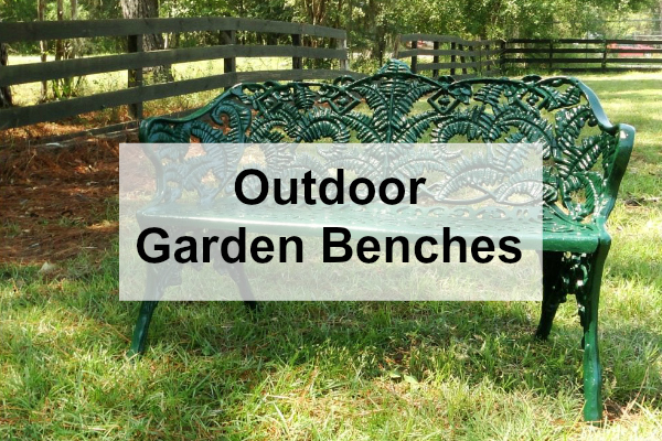 Where To Buy Garden Furniture and Outdoor Benches