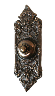 House Of Antiques Brass Doorbell