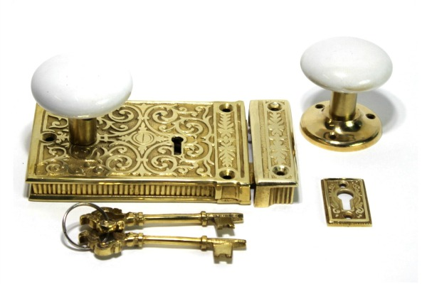 Antique hardware for doors