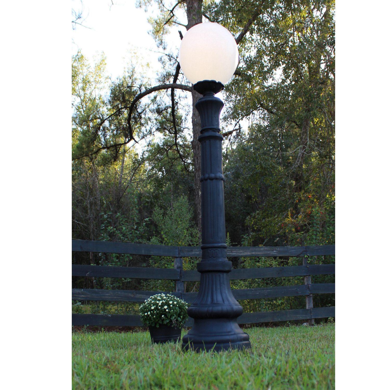 Indoor Outdoor Walkway Post Pole Light Fixture Antique