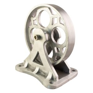 Heavy Factory Cart Wheel Aluminum Part for Furniture Antique Style Hardware