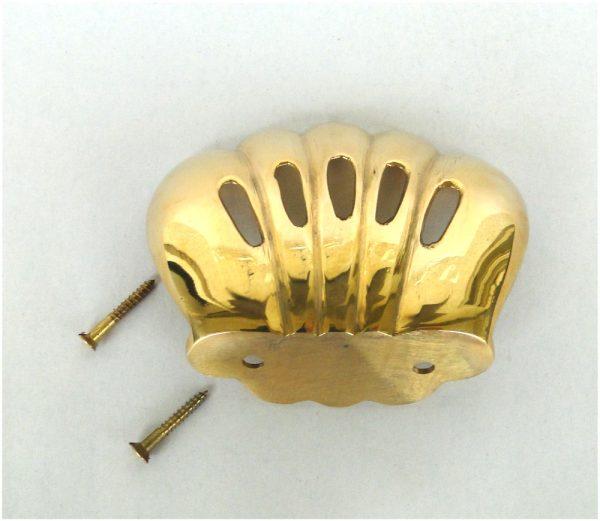 Wall Mount Soap Dish Sponge Holder Brass Vintage Replica Cast Iron Sink