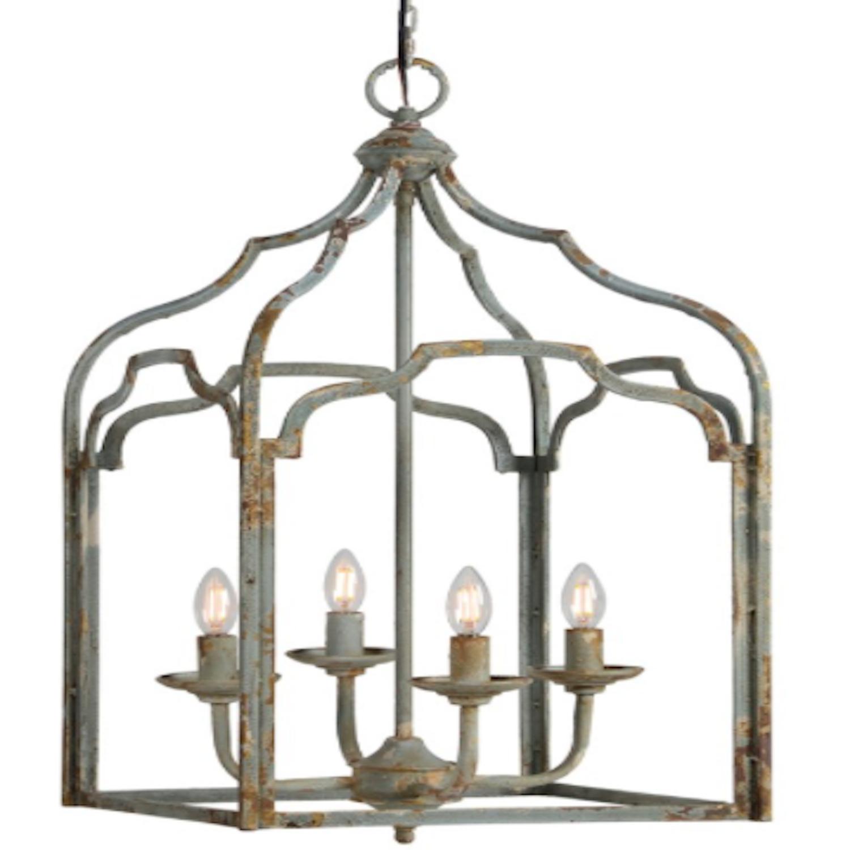 Pendant Chandelier Gothic Style Open Work Concept Light Fixture