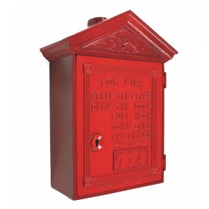 Gamewell Fire Alarm Box Vintage Style New York Exclusive to The Kings Bay