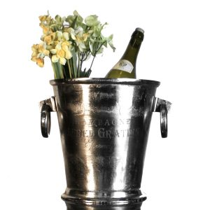 Epernay France Champagne Ice Bucket Alfred Gratien Heavy Casting Crafted