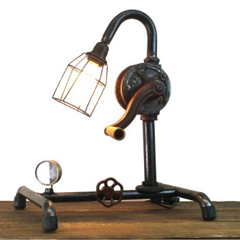 Find Steam Punk Lamps