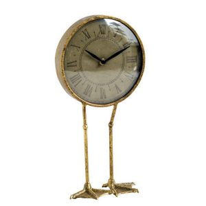 Duck Goose Clock with Webbed Feet So Much Fun Standing on Legs