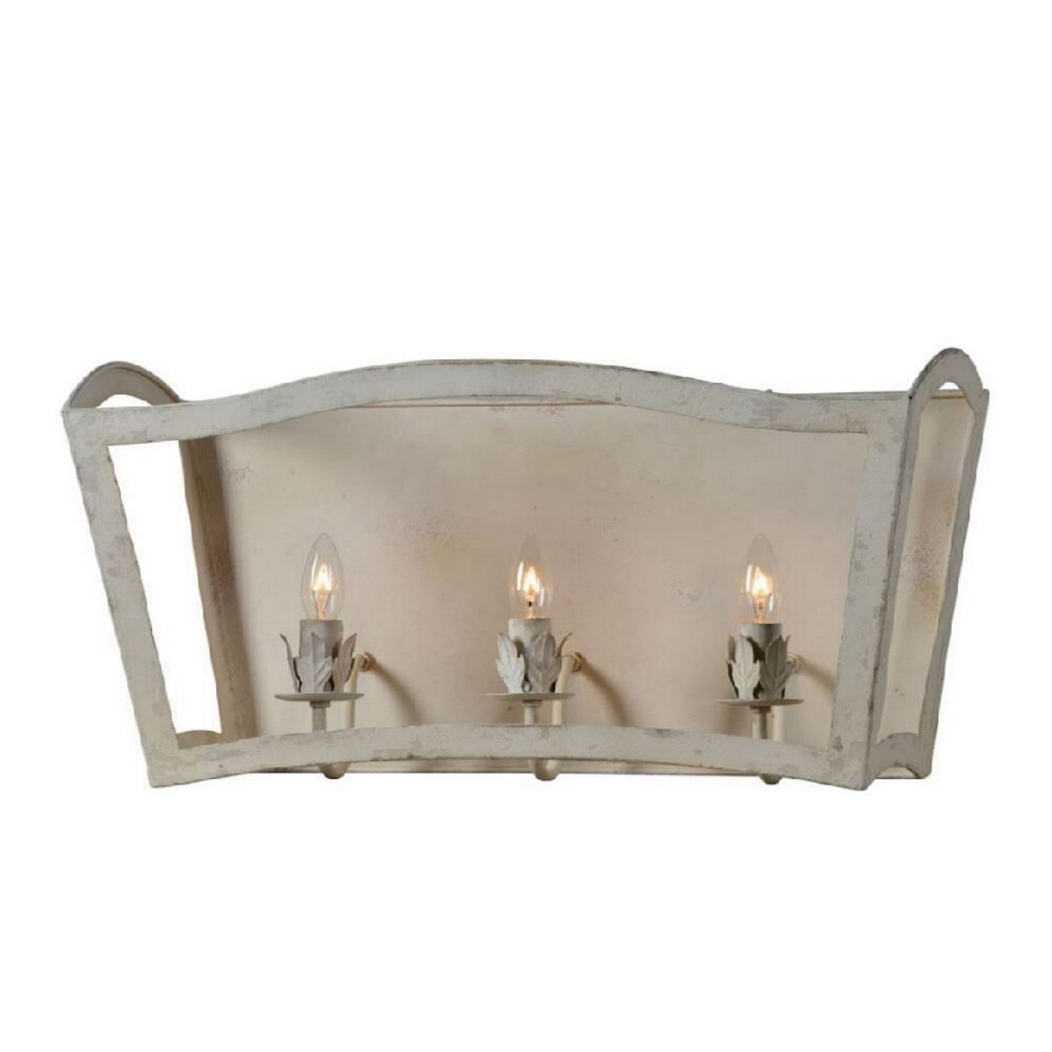 Wall Sconce Light Fixture The Jennifer Aged Off White