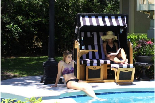 Patio and Pool cabanas with free shipping