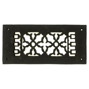 Rectangular Register Wrought Iron Heating Vent Grate Decorative Victorian Design