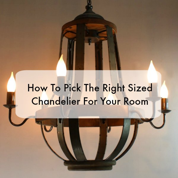 How to Choose The Right Size Chandelier