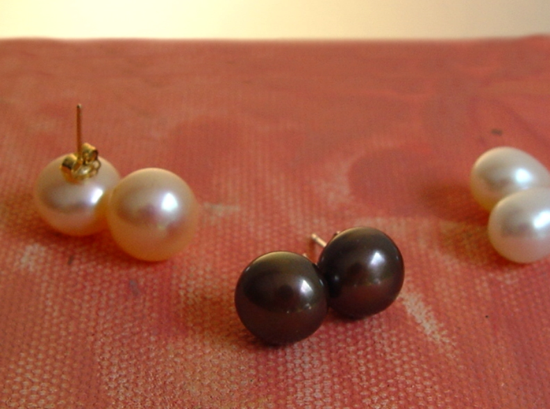 Liquidation Price Pink Pearl Earring 8mm Name Your Price