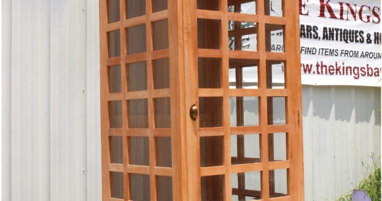 "English British Telephone <mark class=""searchwp-highlight"">Booth Phone</mark> Box Unfinished Wood Old Style"