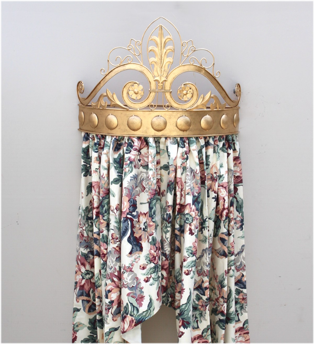 Home Furniture Diy Canopies Netting Bed Hardware Crown Canopy Holder Teester Curtains Wall Baby Princess Forged Iron Mtmstudioclub Com