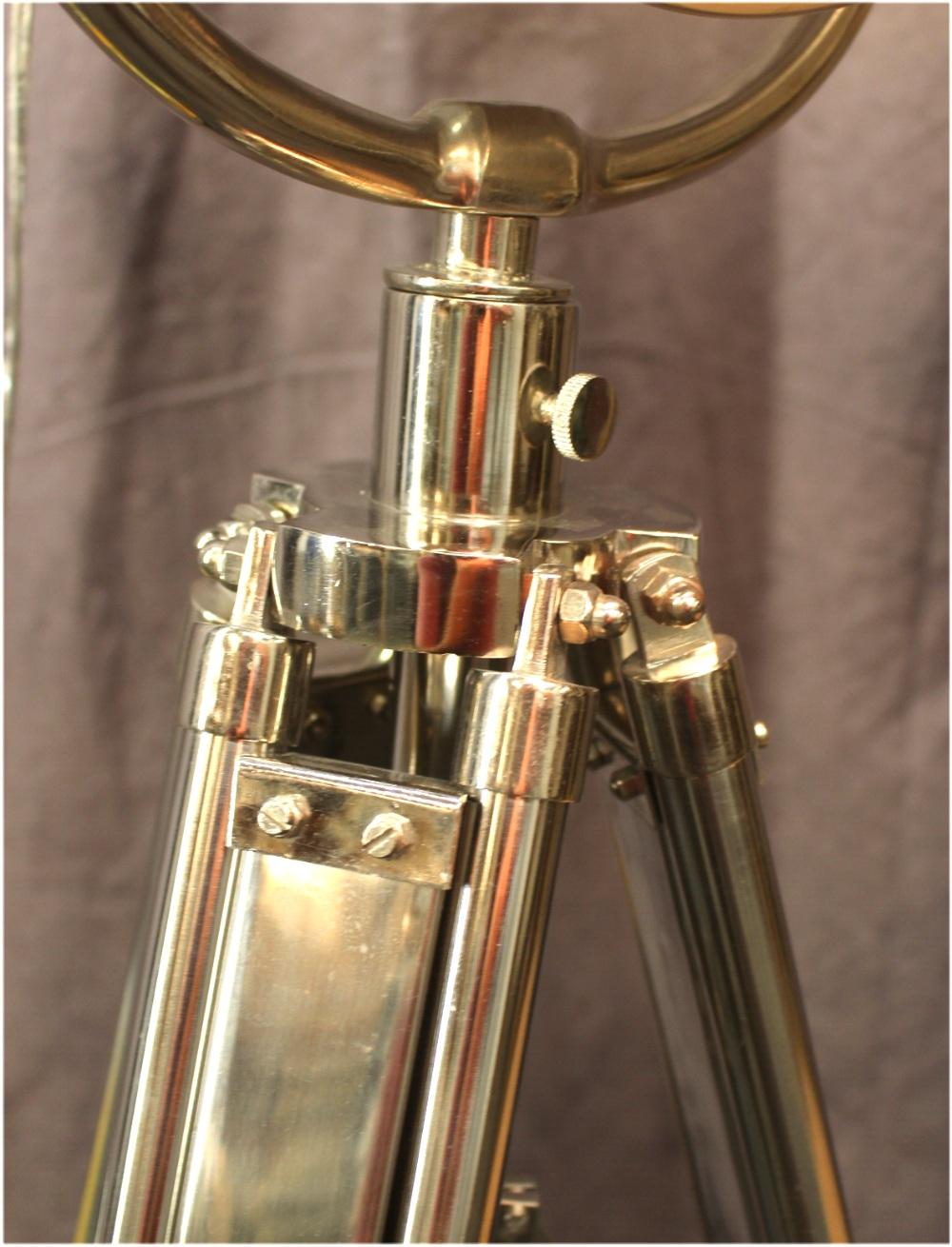Movie Spotlight Floor Lamp Chrome Amp Adjust Height Legs