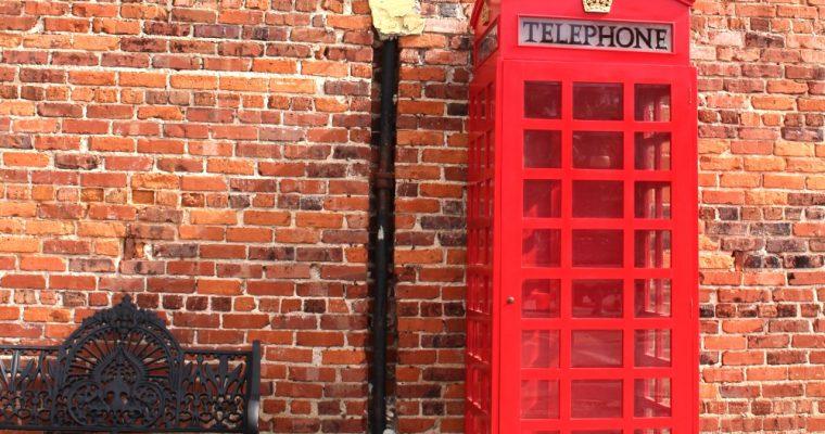 "Red British Wood Telephone <mark class=""searchwp-highlight"">Phone</mark> Box <mark class=""searchwp-highlight"">Booth</mark> English Like Cast Iron Style"
