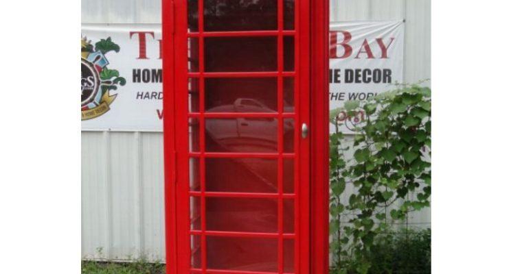 "Red British <mark class=""searchwp-highlight"">Phone</mark> Box No Rust Aluminum Telephone <mark class=""searchwp-highlight"">Booth</mark> English Not Heavy Iron"