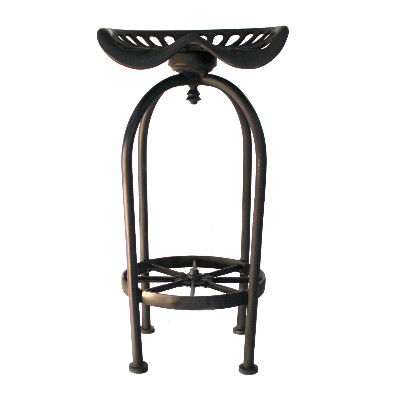 Strange Pair Of Tractor Bar Stools Best Seating With Foot Rest Aluminum Wagon Wheel Creativecarmelina Interior Chair Design Creativecarmelinacom