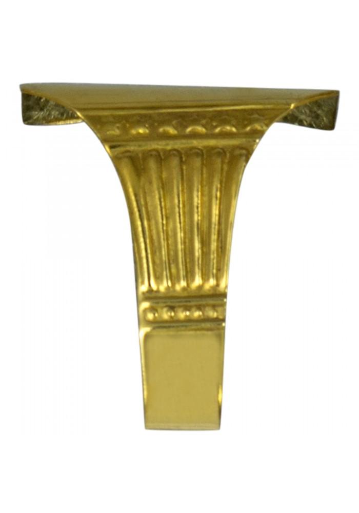 Vintage /& Antique Picture Rail Hooks Bronze Brass Metal