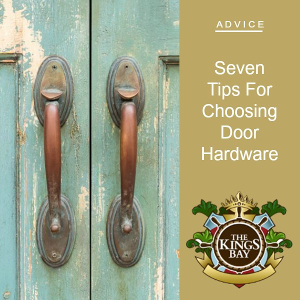 Seven Tips For Choosing Door Hardware