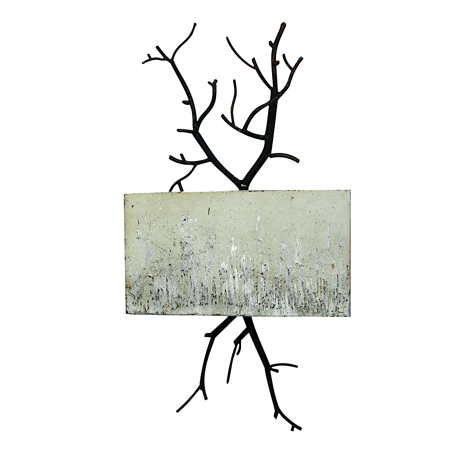 The Mayday Twig Tree Branch Wall Sconce With Shabby Chic