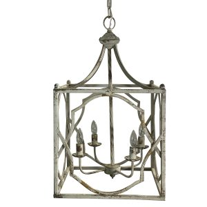The Stanford Chandelier French Country Colonial Style Lighting
