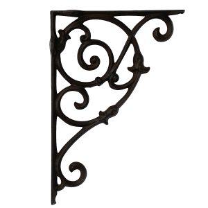 Vineyard Design Cast Iron Shelving Bracket