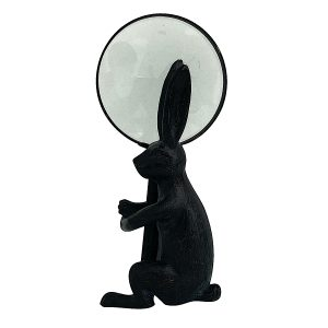 Rabbit Holder and Magnifying Glass Table Top Pair