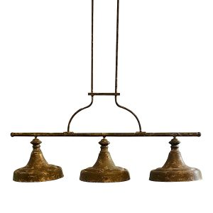 Large Billiard Table or Kitchen Island Light with Adjustable Drop Down