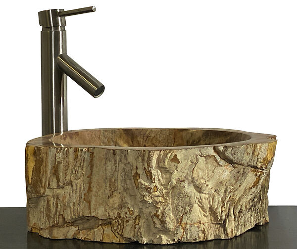 this vessel basin sink is sure to become a conversation piece